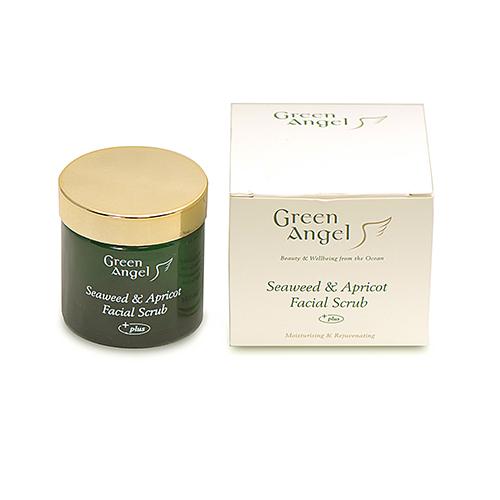 Green Angel Seaweed & Apricot Facial Scrub