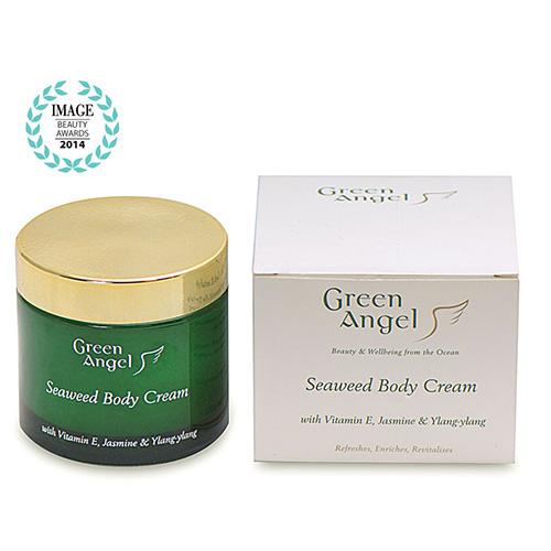 Green-Angel-Seaweed-Body-Cream-with-Vitamin-E-Jasmine-Ylang-ylang-with-Image-Logo