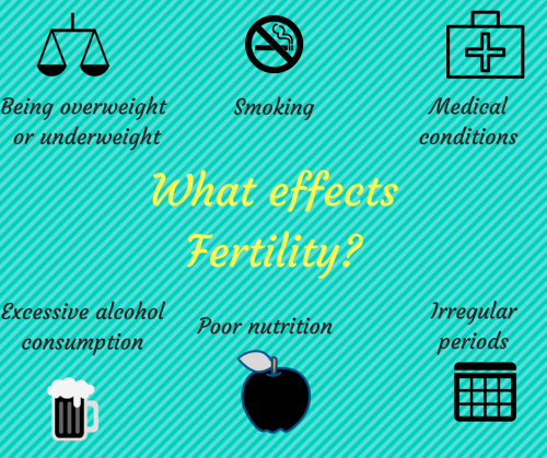 What effects Fertility-