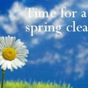 Health spring clean
