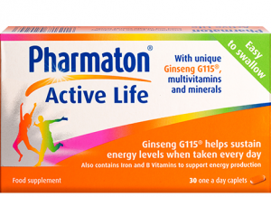 pharmaton active life. health